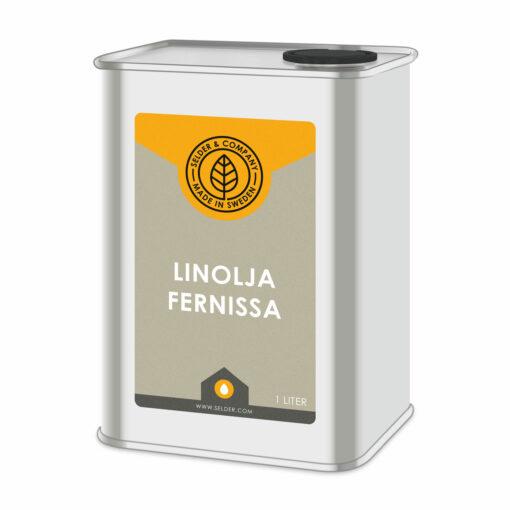 produktbild selder & company linolja fernissa 1L