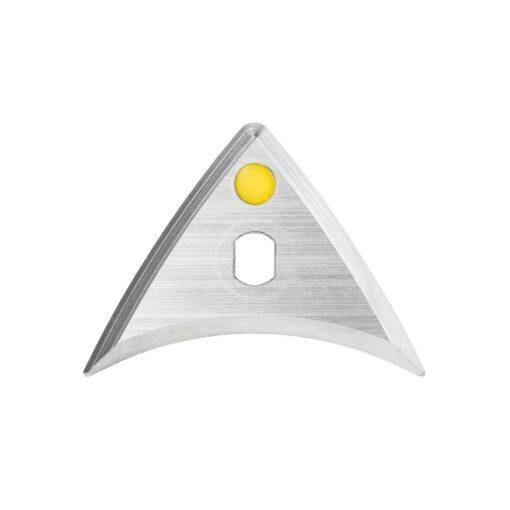 produktbild framifrån speedheater bumerangblad